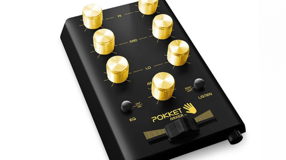 Pocket DJ Mixer for Professional Sound