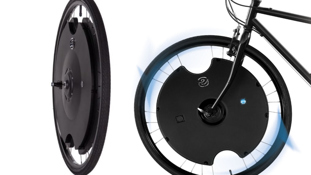 Electron Wheel To Electrify Your Bike Instantly