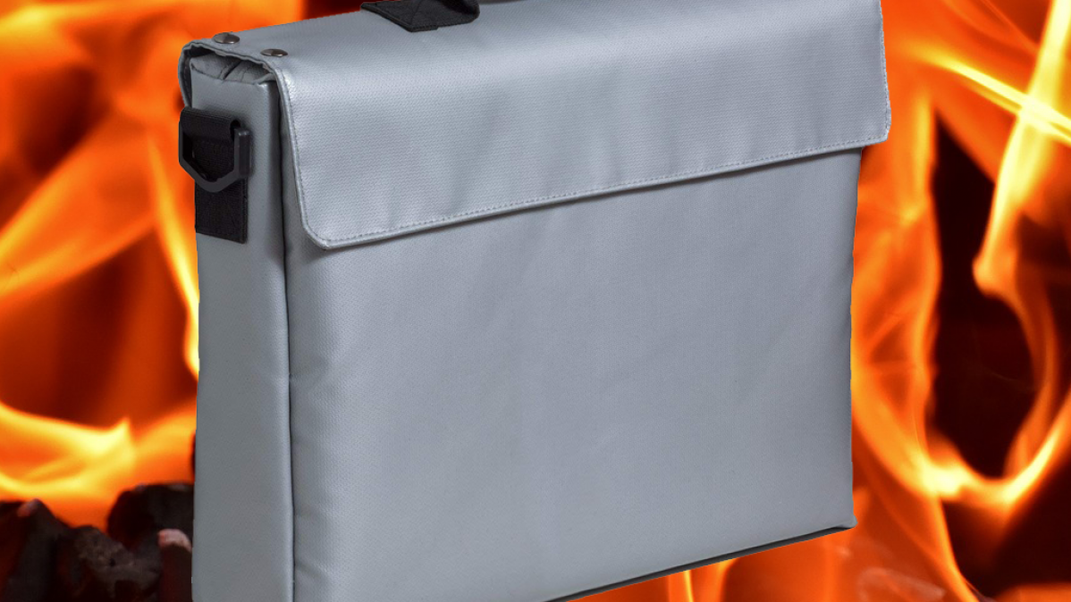 Certified Fireproof Bag To Protect Valuables