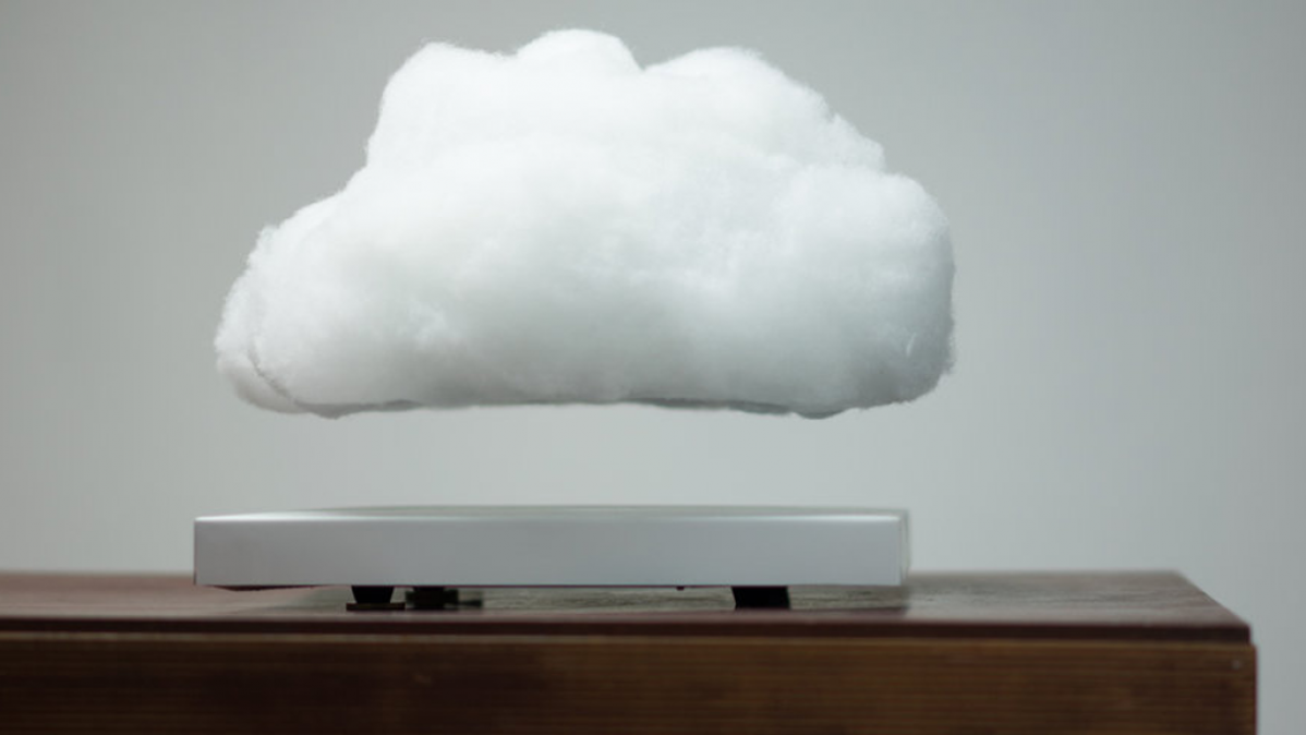 Modern Levitating Floating Cloud Lamp