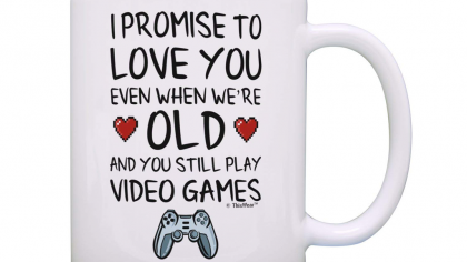 Promise Of Love Quote For A Gamer Mug