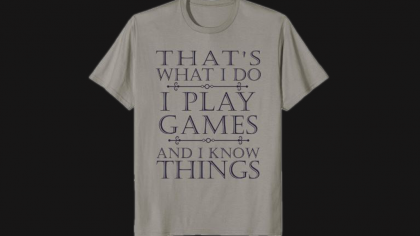 Funny Shirt For An Expert Geek Gamer