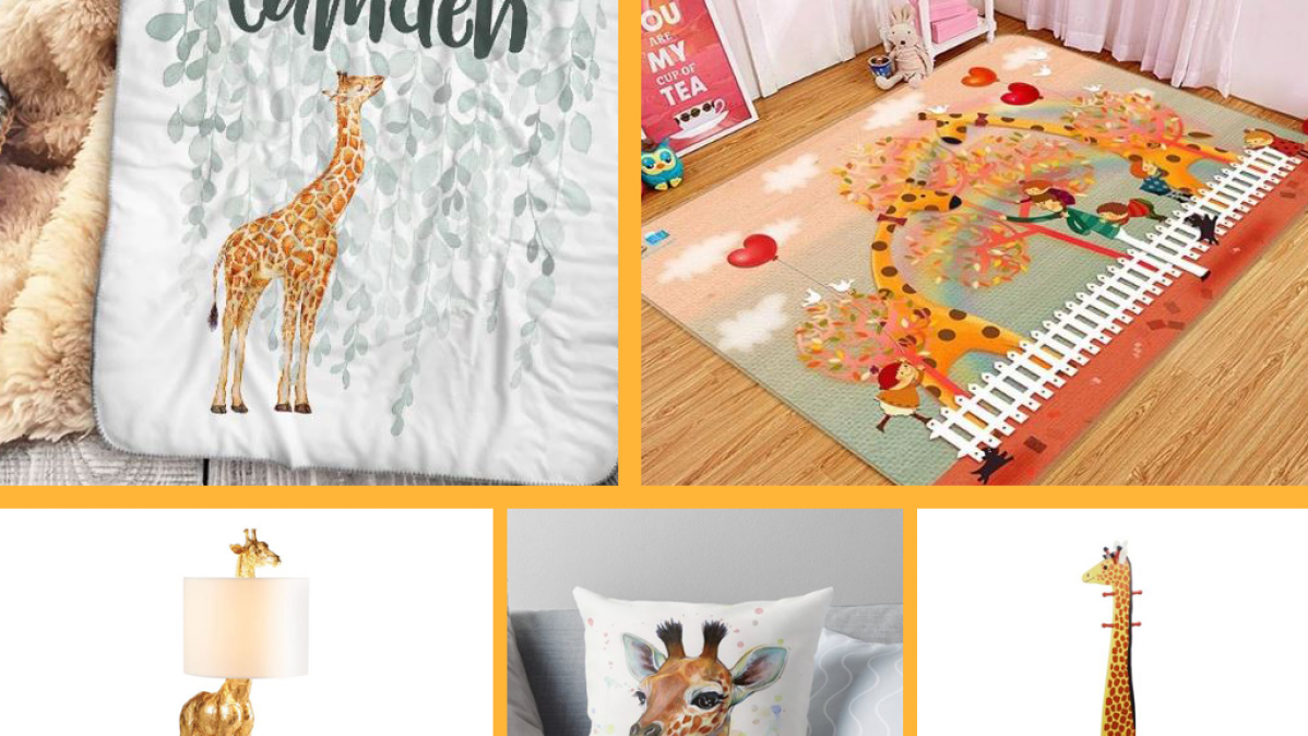 10 Giraffe Nursery Ideas For Boys and Girls