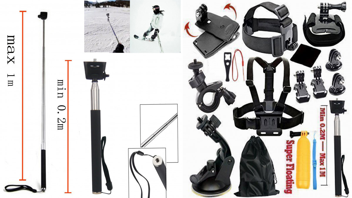GoPro Accessories Kit