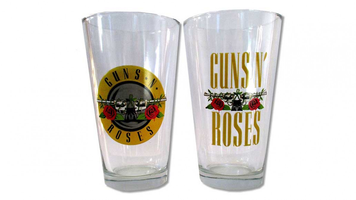 Guns N Roses Beer Glasses