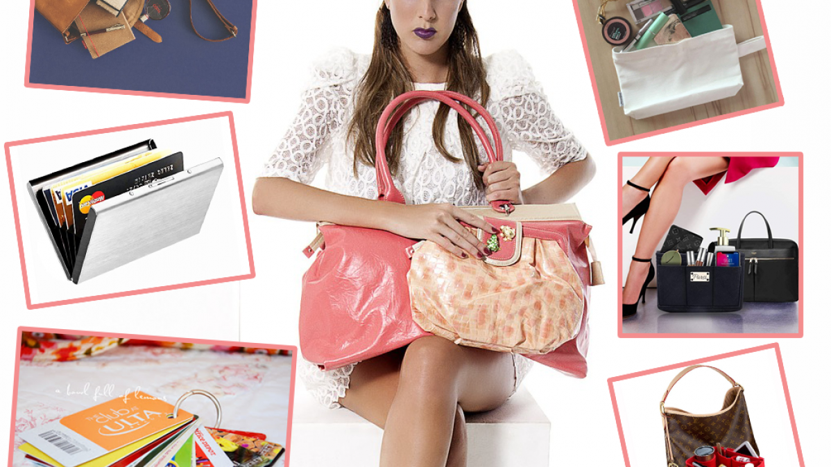 9 Ways To Keep Your Handbag Organized