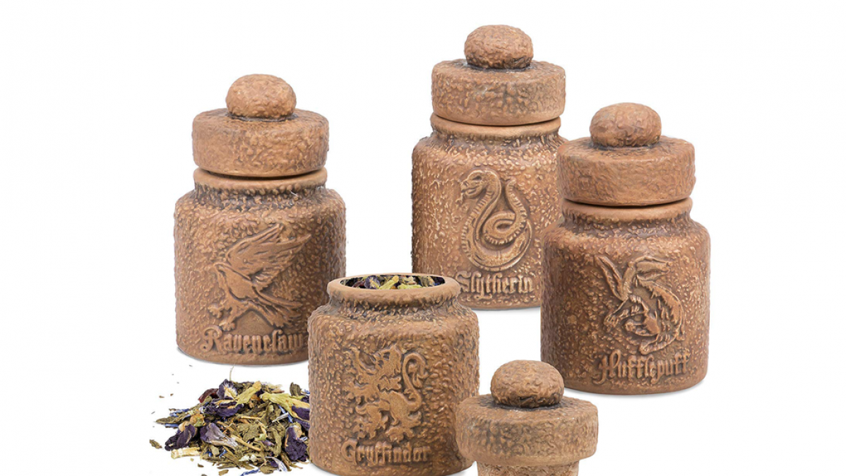 Harry Potter Ceramic Spice Jar Set