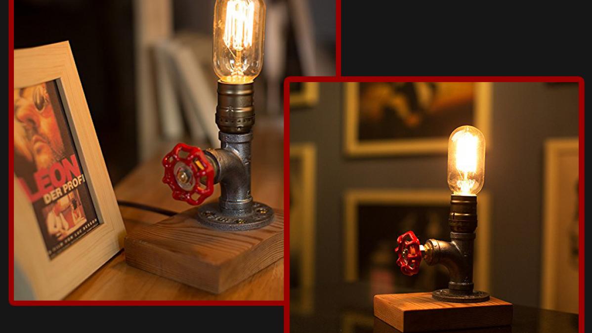 Unique Dimmable Industrial Desk Lamp