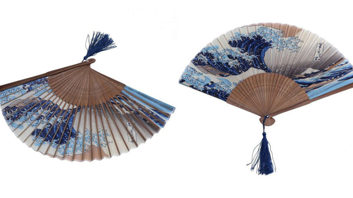 This Japanese Folding Fan will Help You Feel Breezy in the Summer