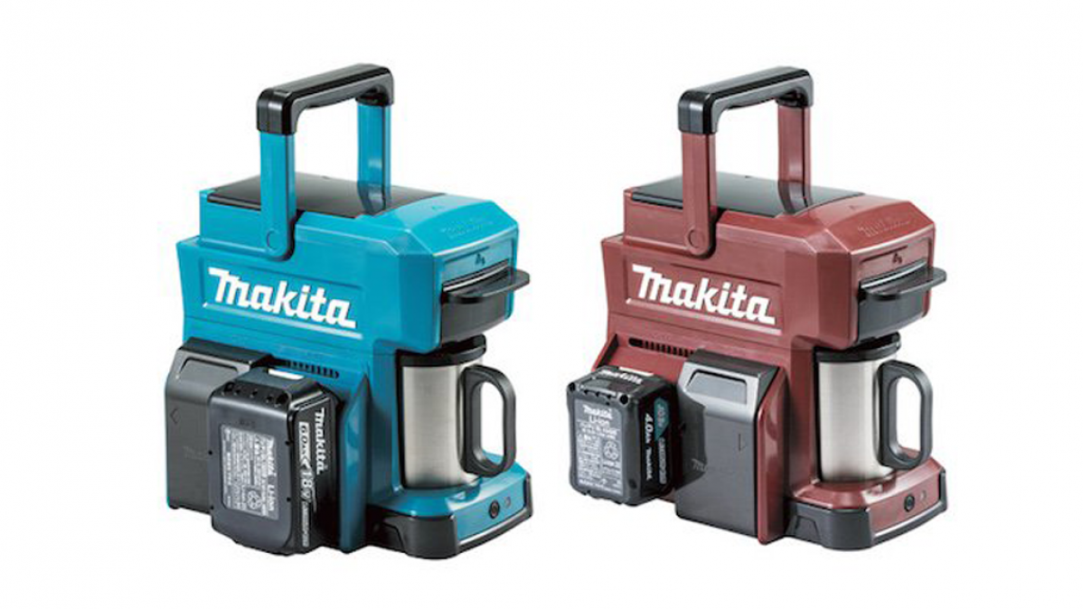 Makita Power Tool Battery Coffee Maker