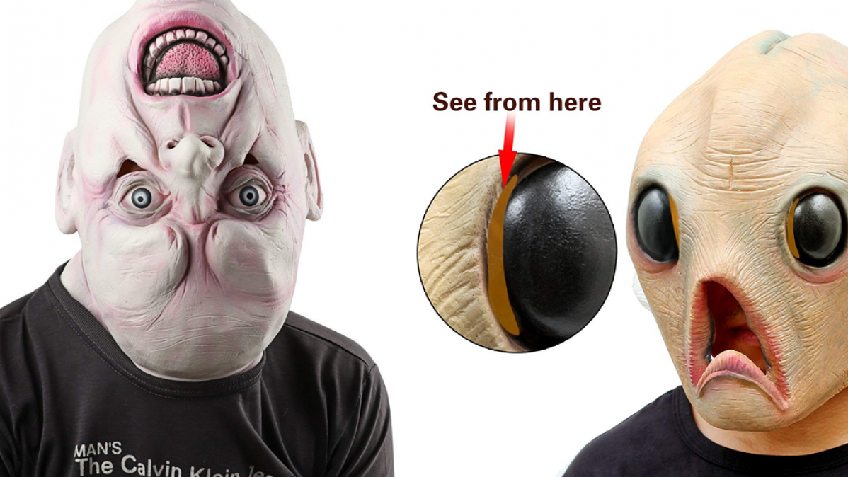 10 Creepy Halloween Masks