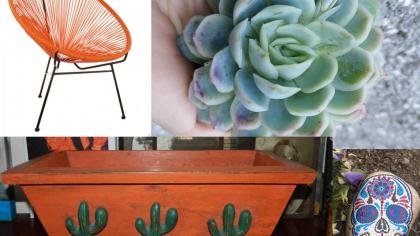 8 Mexican Style Succulent Garden Ideas