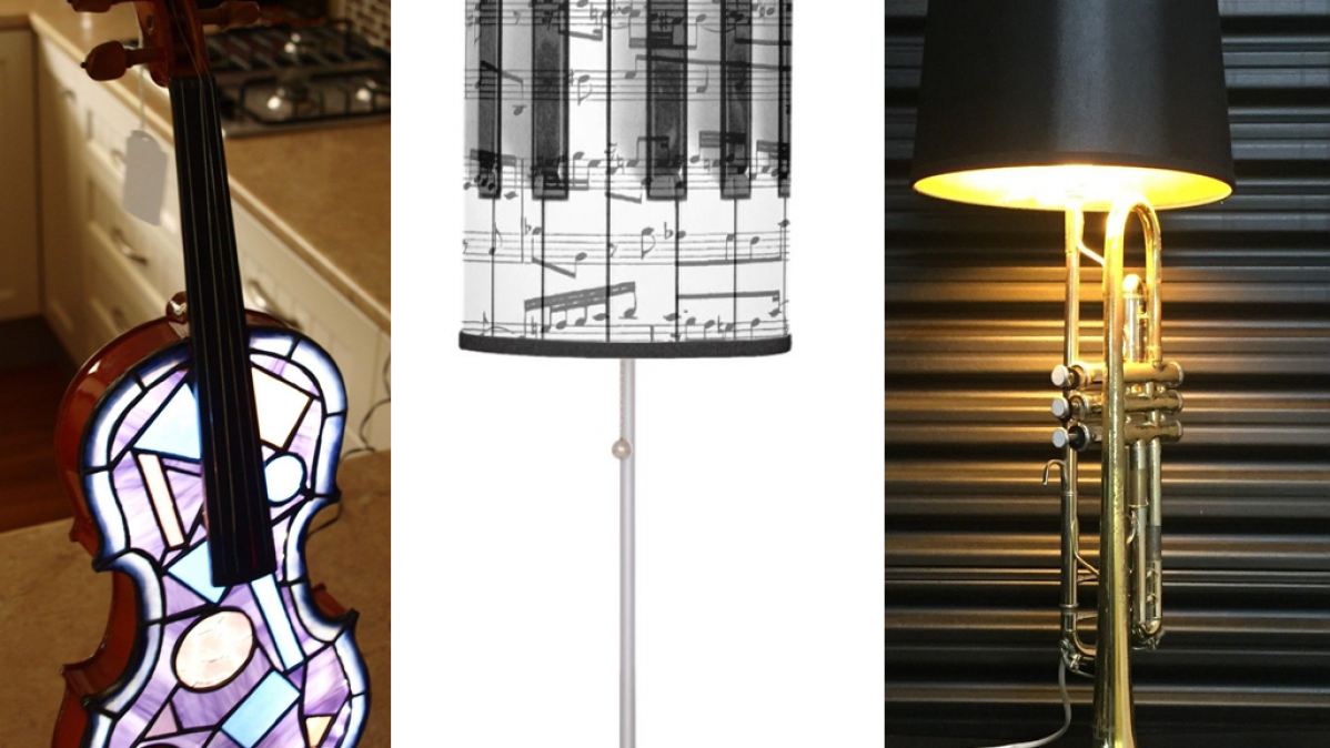 10 Creative Lamps For Music Lovers