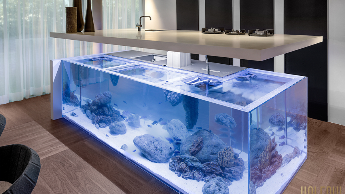Incredible KOLENIK Living Ocean Kitchen