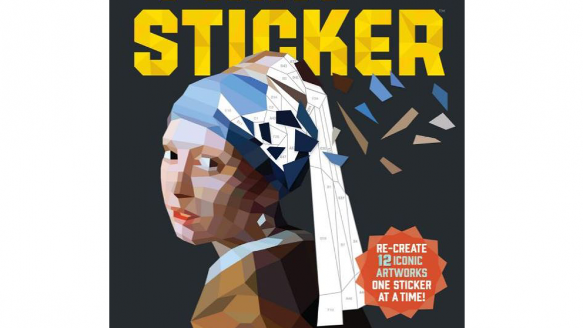 Recreate A Masterpiece Using Stickers