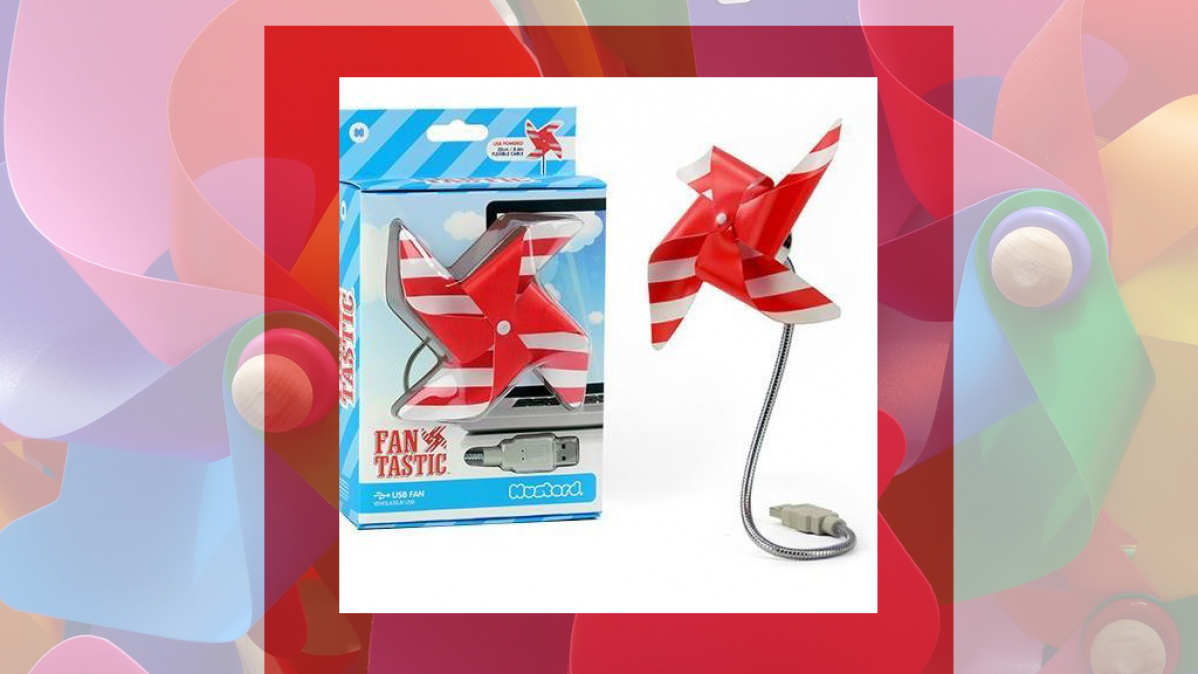 Adorable and Fun Pinwheel USB Fan