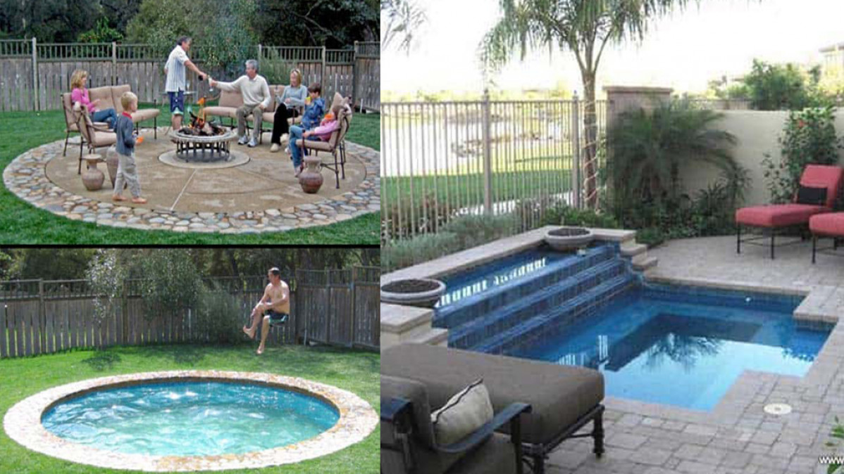10 Swimming Pool Ideas For Small Backyards