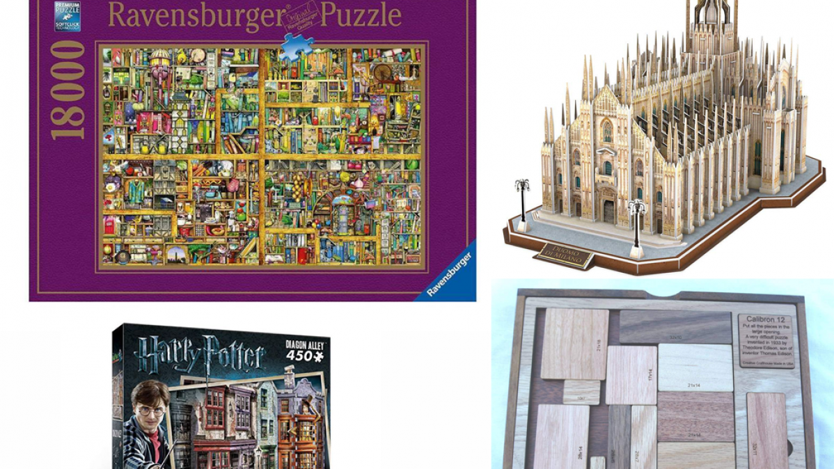 10 Challenging Puzzles For Rainy Day Fun