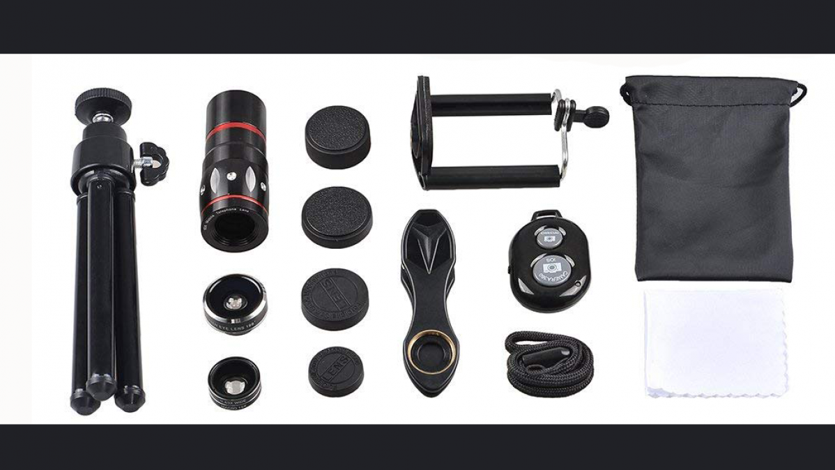 Five In One Smartphone Camera Lens Kit