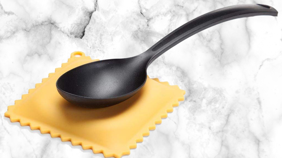 Novelty Silicone Ravioli Spoon Rest