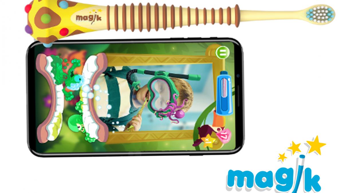 Augmented Reality Magik Smart Kids Toothbrush