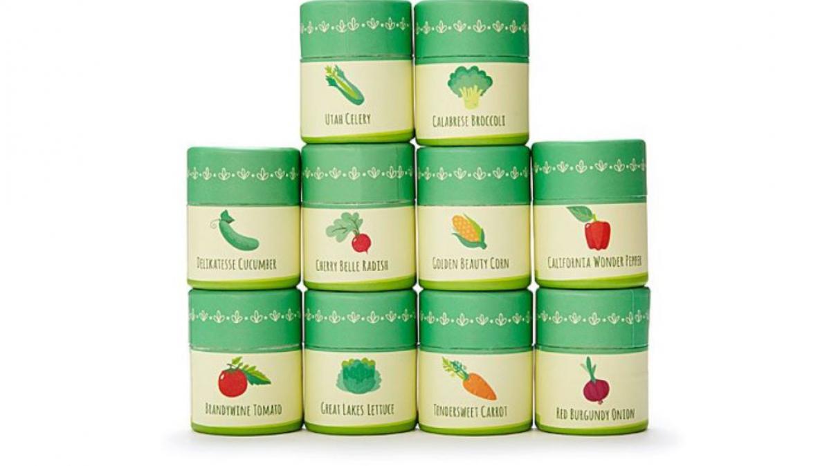 Genetically Diverse Heirloom Vegetables Seed Kit
