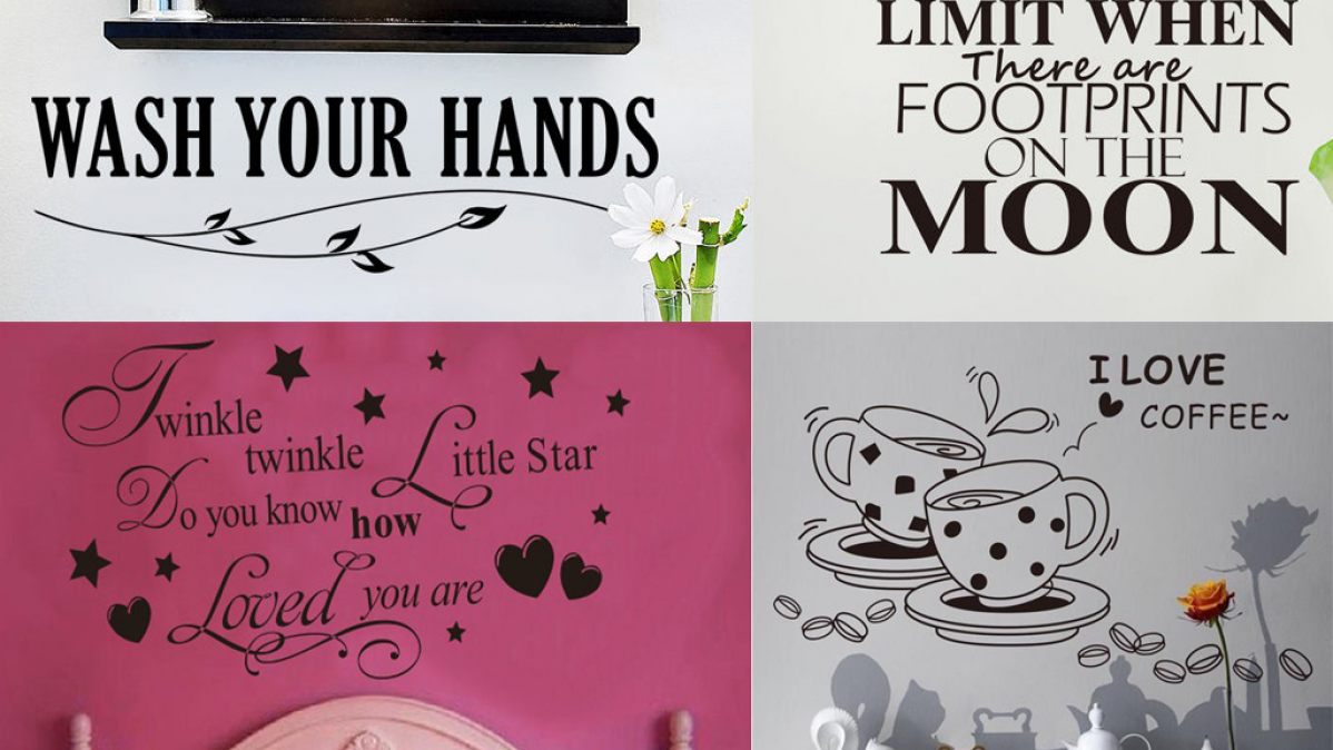 Removable Wall Decals For Your Home