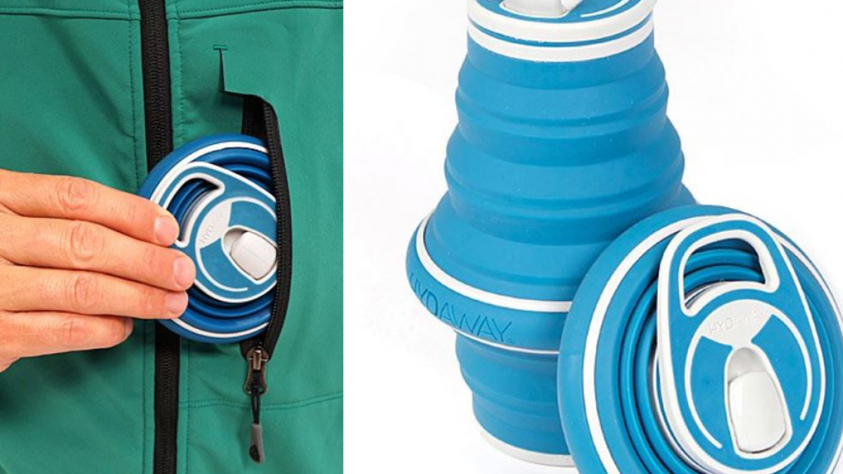 Collapsible Water Bottle For Travel and Hiking