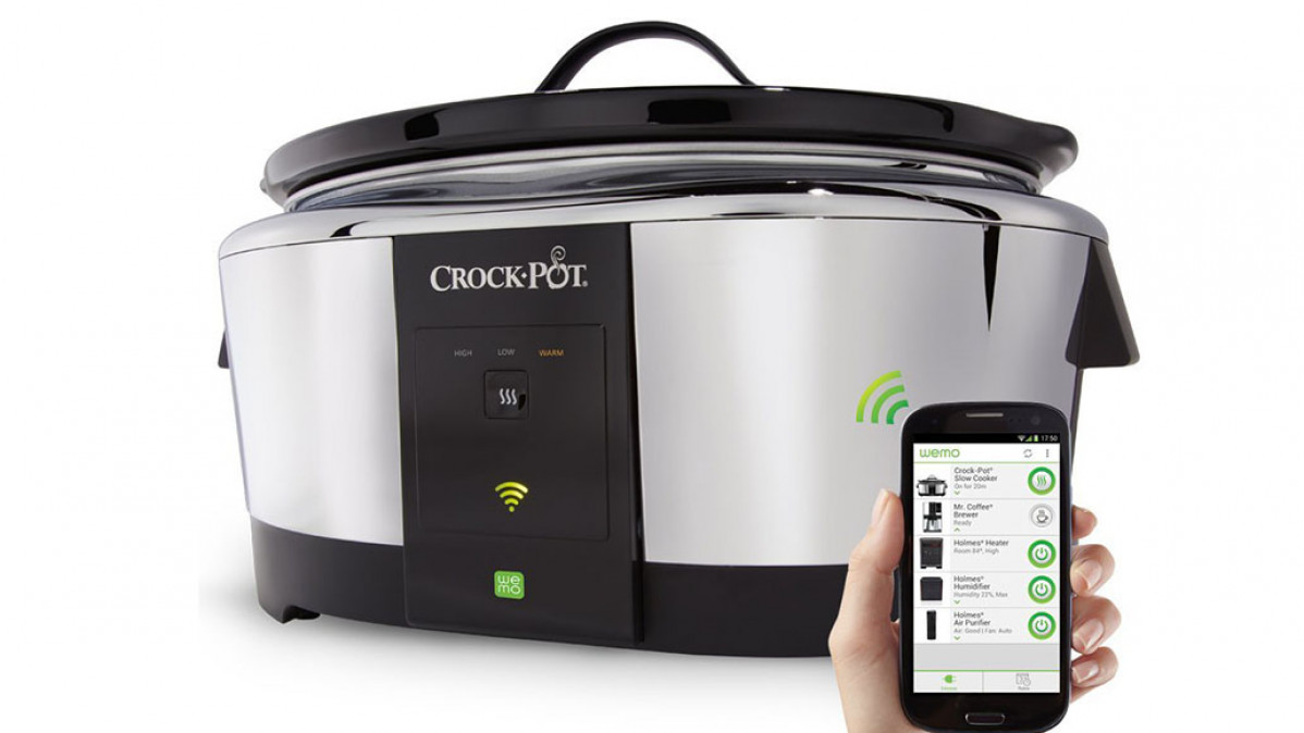 Wifi Enabled Slow Cooker