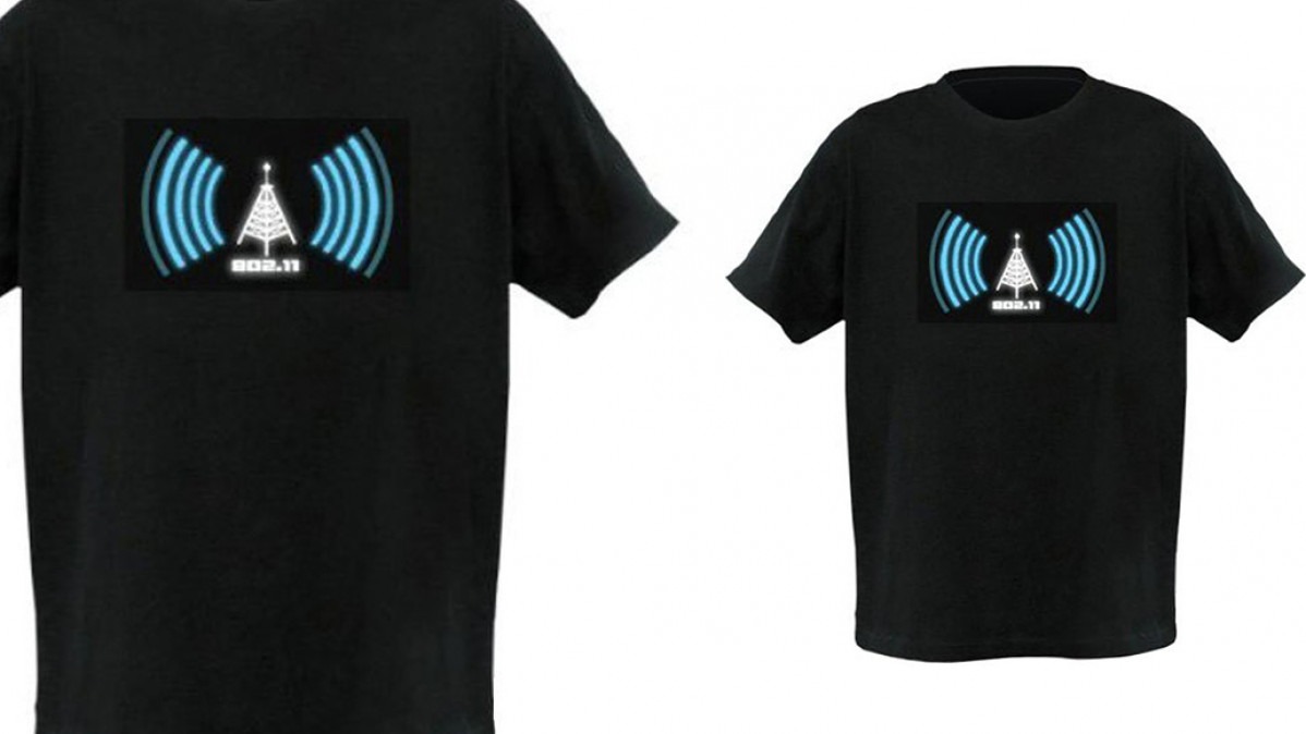 Geek Wi-Fi Detector Shirt