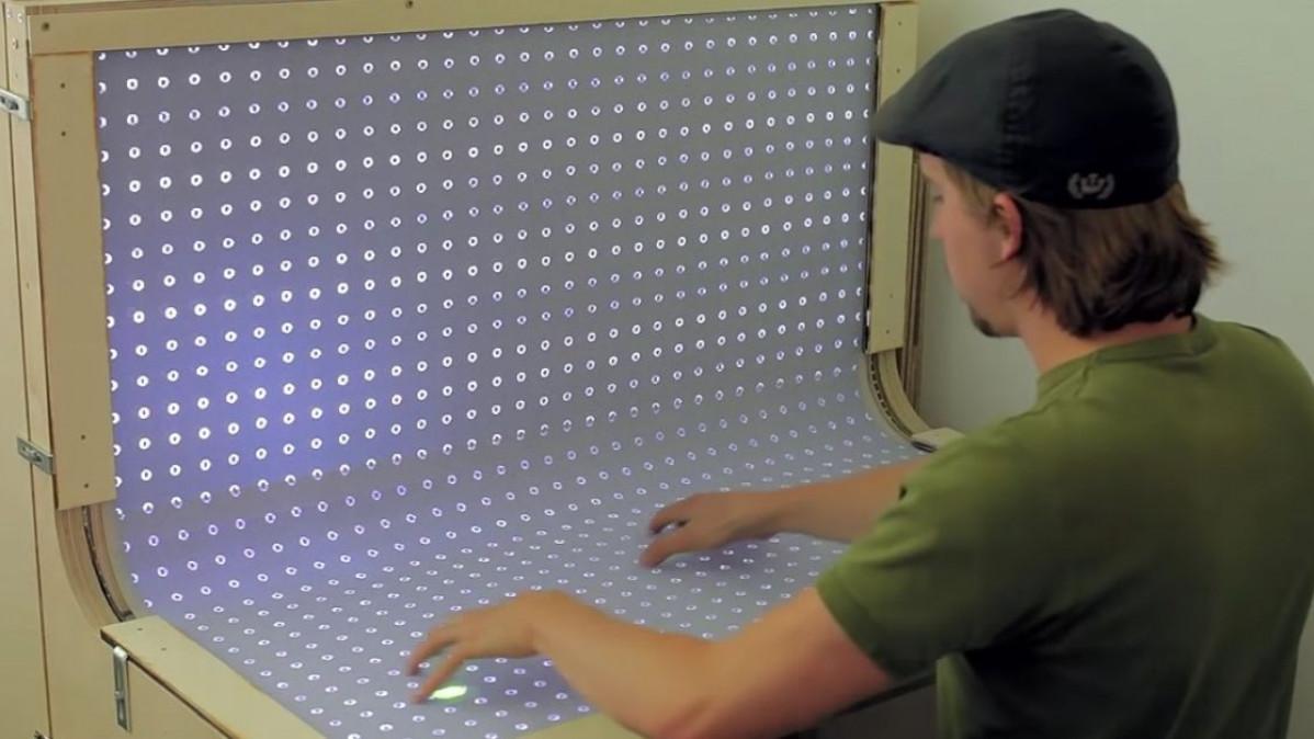 Multi Touch BendDesk Prototype