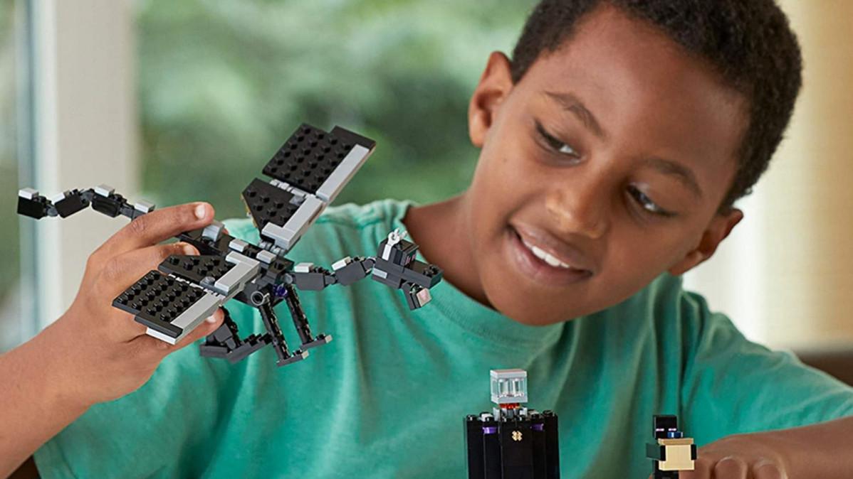 Minecraft LEGO Ender Dragon