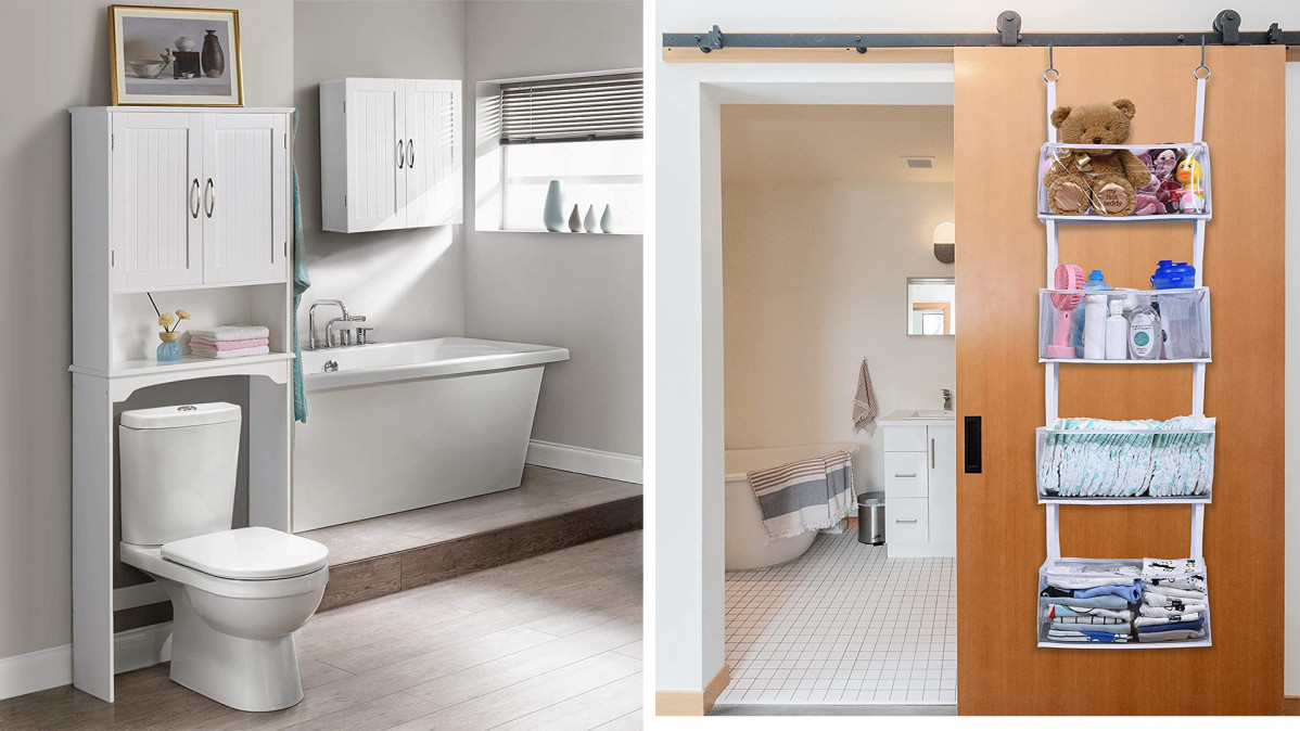 10 Bathroom Items That'll Save You Space