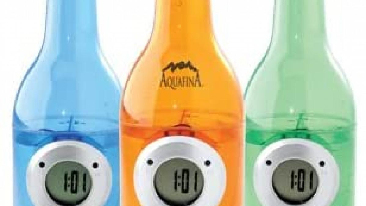 Water Powered Bottle Clock