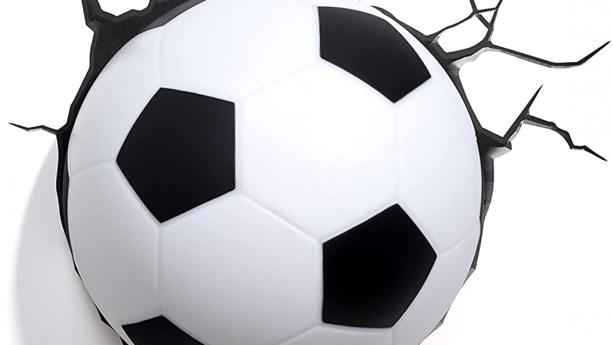 3D Soccer Ball Lamp for Excitement