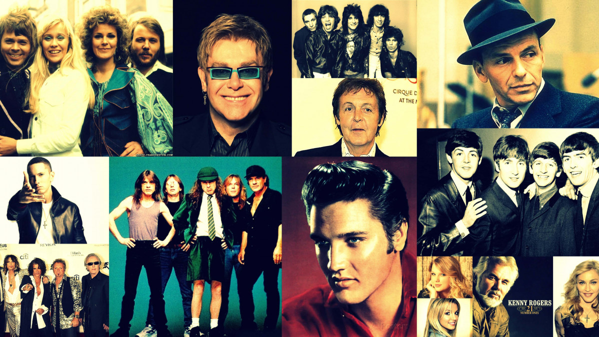 Top 50 All Time Best Selling Music Artists