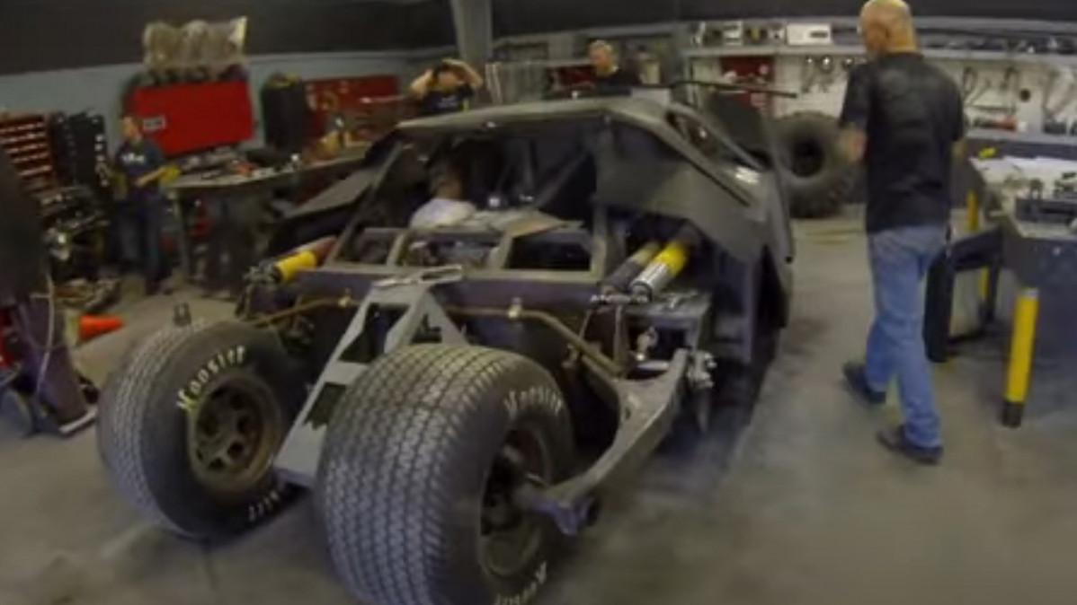 Super Cool Batman Tumbler Replica