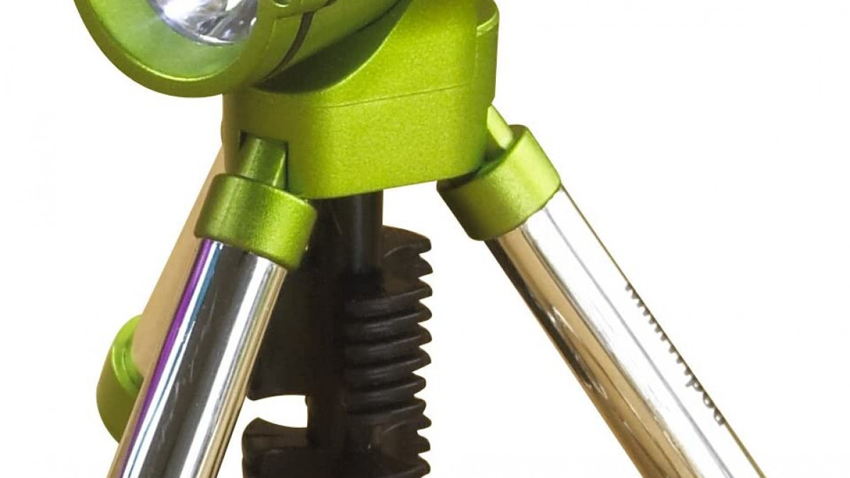 Mini Tripod Keychain Flashlight