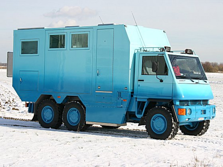 Mobile Truck Homes