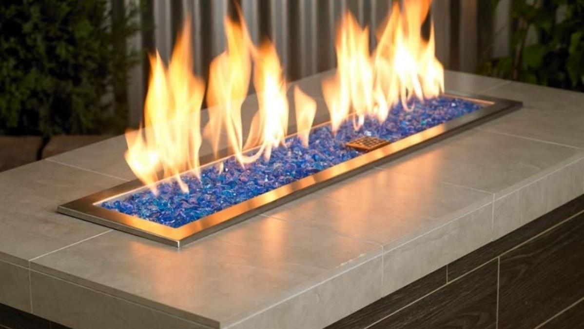 Turquoise American Fireglass