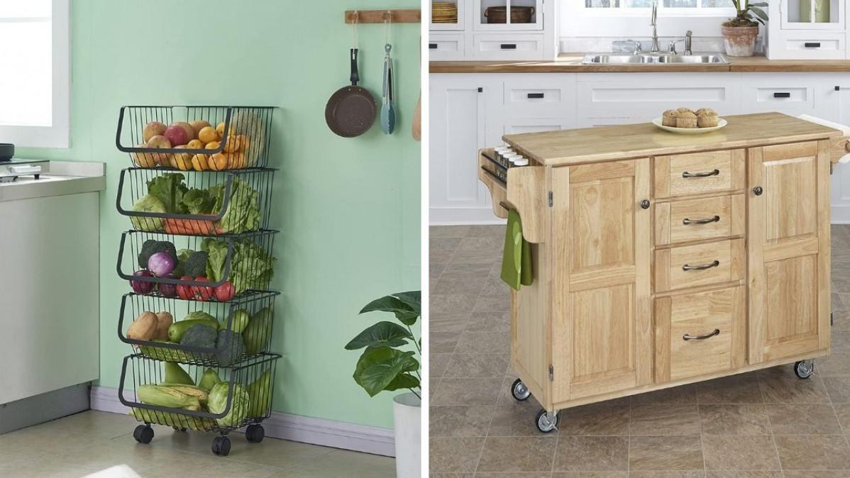10 Practical Kitchen Storage Items