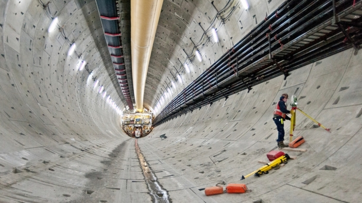 """Steel Pipe in the Way of Seattle Tunnel Machine """"Bertha"""""""