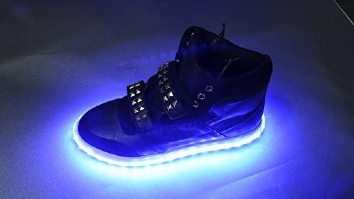LED Shoe Light System for Brighter Impact