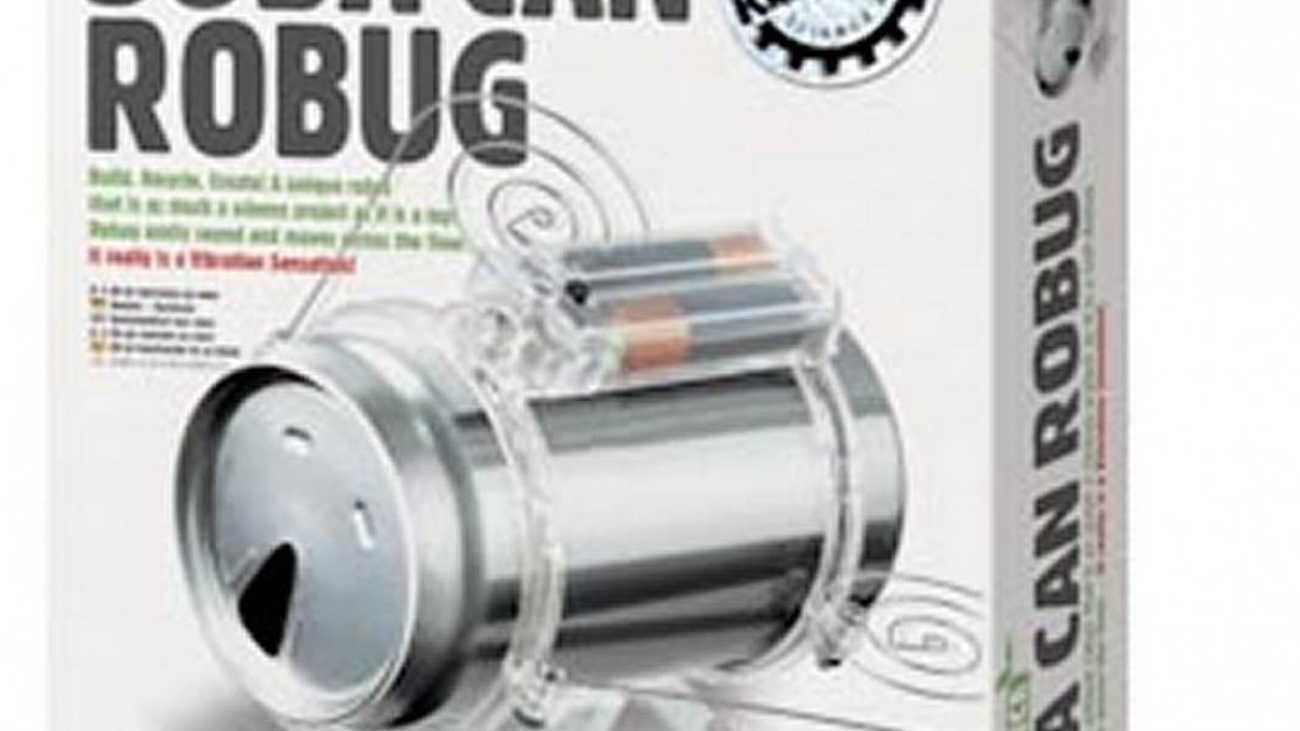 DIY Soda Can Bug