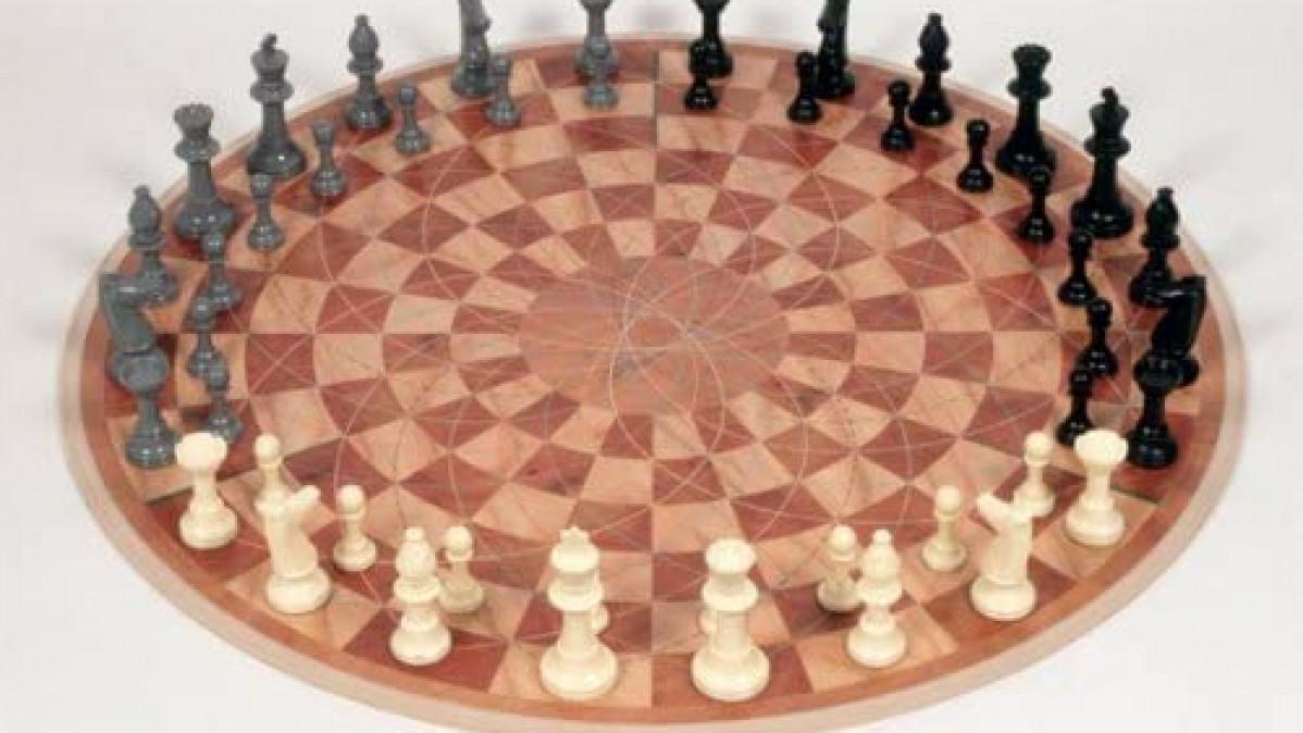 Three Person Chess