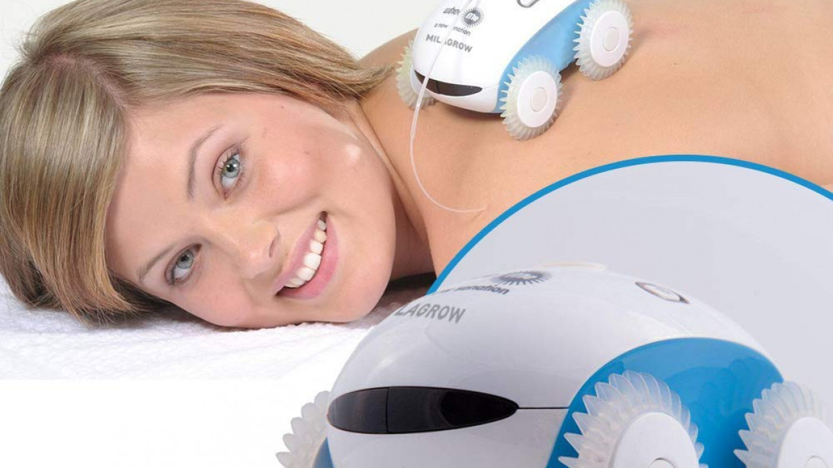 Back Massage Robot for Better Relaxation