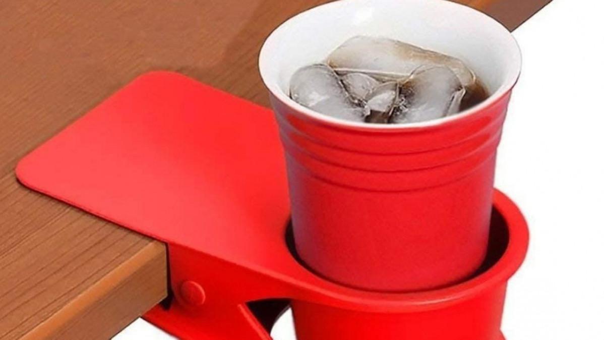 Coffee Cup Desk Clip