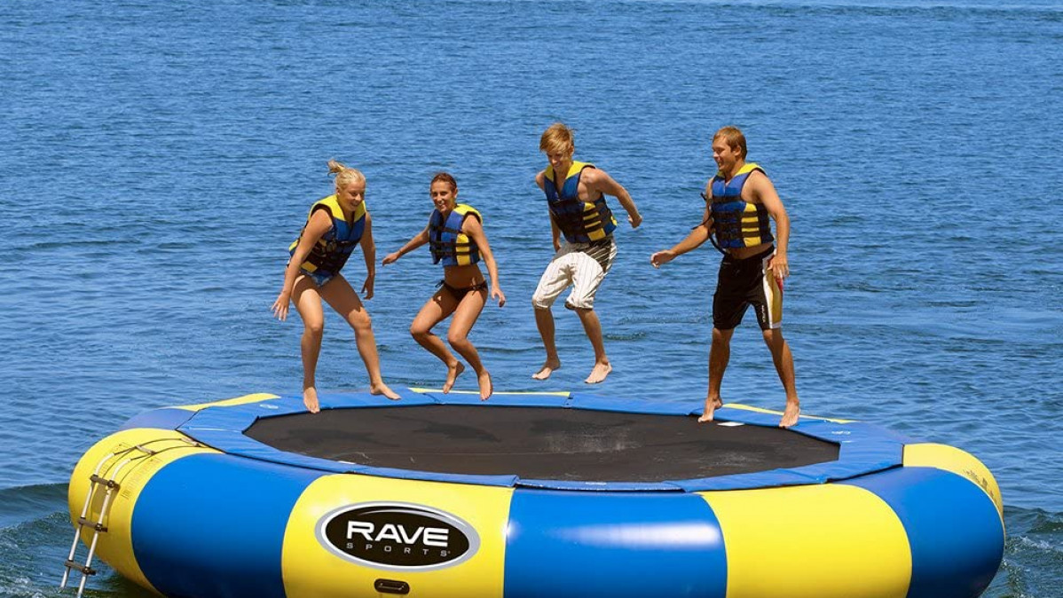 Floating Trampoline for Exciting Adventure