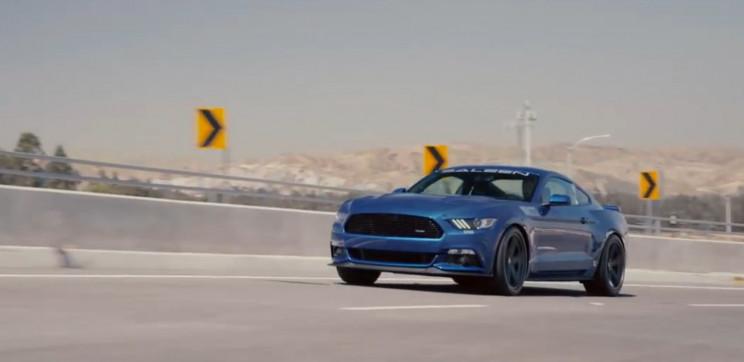 New Saleen Mustang
