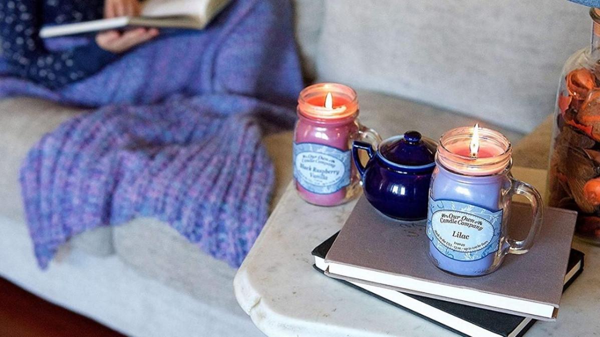 Christmas Jar Candles
